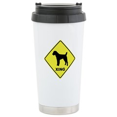 Jack Russell Crossing Ceramic Travel Mug
