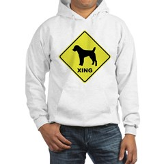 Jack Russell Crossing Hooded Sweatshirt