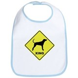 Plott Hound Crossing Bib