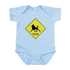 Poodle Crossing Infant Bodysuit