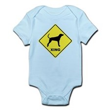 Reds Crossing Infant Bodysuit