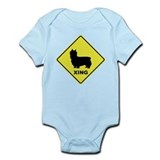 Silky Terrier Crossing Onesie