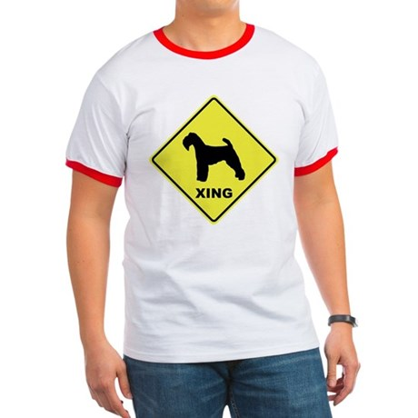 Welsh Terrier Crossing Ringer T