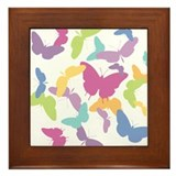 Butterfly Migration Framed Tile