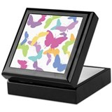 Butterfly Migration Keepsake Box