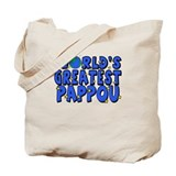 World's Greatest Pappou Tote Bag