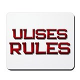ulises rules Mousepad