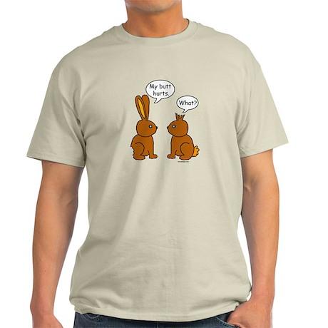 Funny Chocolate Bunnies Light T-Shirt