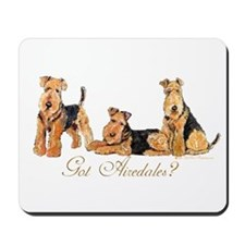 Got Airedale Terriers? Mousepad