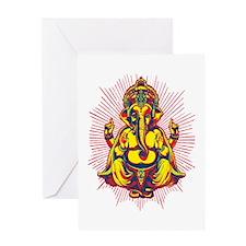 Power of Ganesh Greeting Card