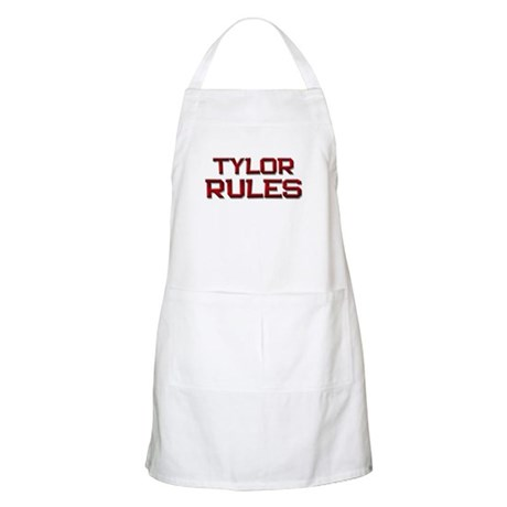 tylor rules BBQ Apron