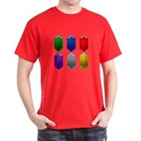 All 6 Rupees - Black T-Shirt