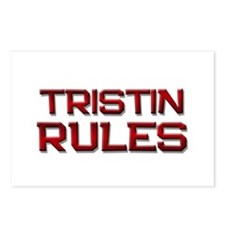 tristin rules Postcards (Package of 8)