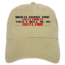 WHEN GUNS ARE OUTLAWED! Baseball Cap