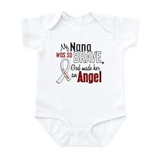 Angel 1 NANA Lung Cancer Infant Bodysuit