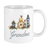 Birdhouses Grandma Mug