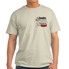 Angel 1 DAUGHTER Lung Cancer T-Shirt