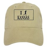 Men's I Run Kansas Hat