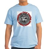 Knights Templar Seal (Latin) T-Shirt