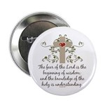 "The Fear Of The Lord 2.25"" Button"