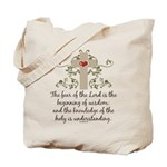 The Fear Of The Lord Tote Bag
