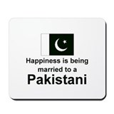 Happily Married To A Pakistani Mousepad