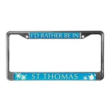 St Thomas License Plate Frame