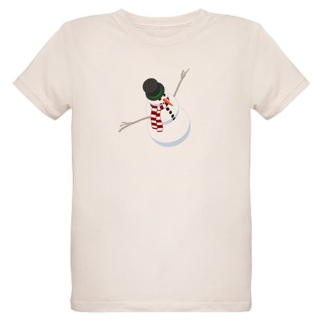 Bliz the Snowman Organic Kids T-Shirt