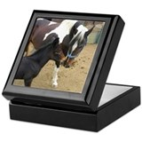 Horse Mother & Colt Keepsake Box