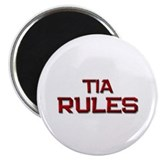 "tia rules 2.25"" Magnet (10 pack)"