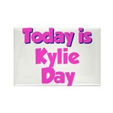 Today Is Kylie Day Rectangle Magnet