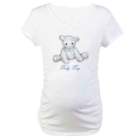 Baby Boy Lamb Maternity T-Shirt