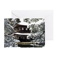 Ginkakuji Temple Greeting Card