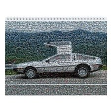 De Lorean Photomosaic Calendar