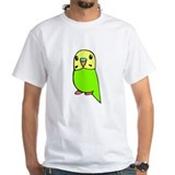 Cute Green Budgie Shirt