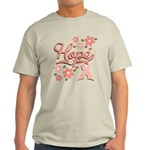 Hope Pink Ribbon Light T-Shirt