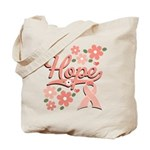 Hope Pink Ribbon Tote Bag