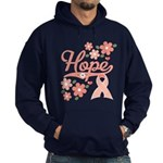 Hope Pink Ribbon Hoodie (dark)