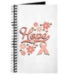 Hope Pink Ribbon Journal