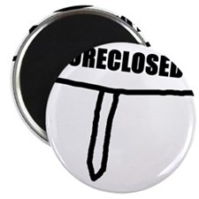 "Cute Housing crisis 2.25"" Magnet (10 pack)"