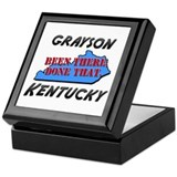 grayson kentucky - been there, done that Keepsake