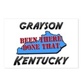 grayson kentucky - been there, done that Postcards