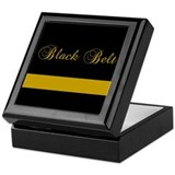 Black Belt Gold Bar Keepsake Box