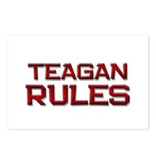 teagan rules Postcards (Package of 8)