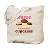 Nurse Gift Cupcakes Tote Bag