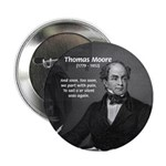 Irish Poet: Thomas Moore Button