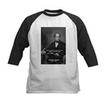 Irish Poet: Thomas Moore Kids Baseball Jersey