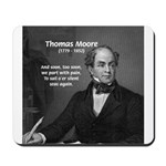 Irish Poet: Thomas Moore Mousepad