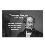 Irish Poet: Thomas Moore Postcards (Package of 8)