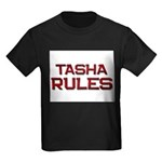 tasha rules Kids Dark T-Shirt